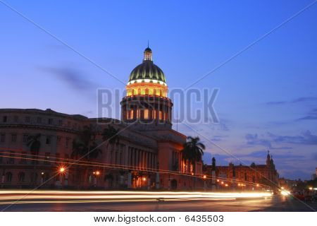 The Capitol In Havana