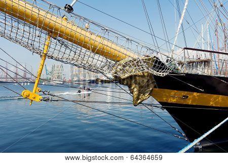 Varna, Bulgaria, May 1, 2014: International Regatta SCF BLACK SEA TALL SHIPS REGATA 2014, Varna, Bul
