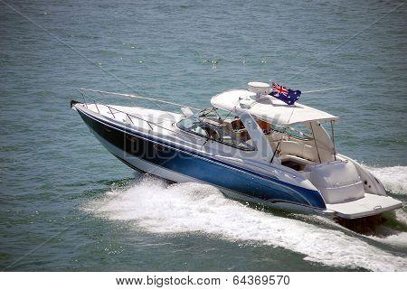 Upscale Sport Fishing Boat