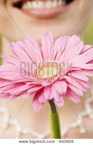 Bride With Wedding Flower