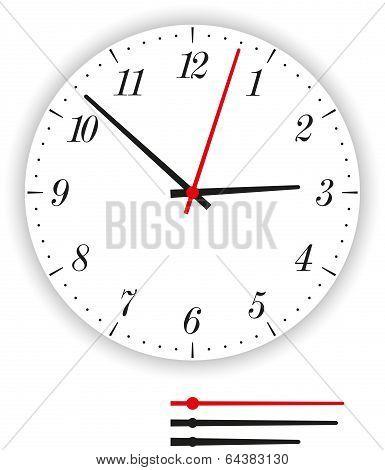 Clock Face Modern