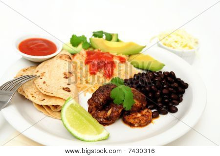 Spicy Shrimp For Tacos
