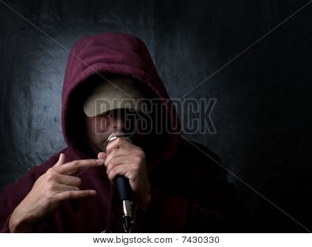 Urban artist, rapper