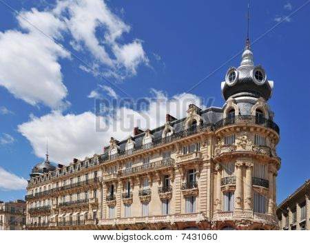 French Architecture In Montpellier