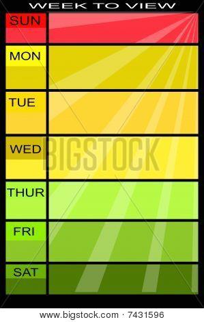 Weekly chart