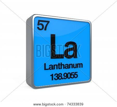 Lanthanum Element Periodic Table