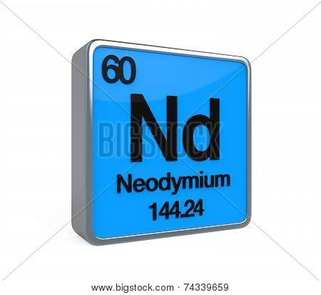 Neodymium Element Periodic Table