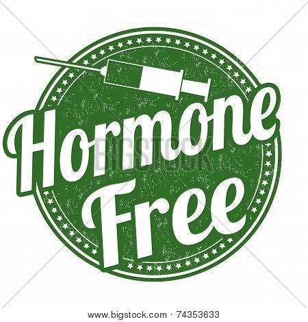 Hormone Free Stamp