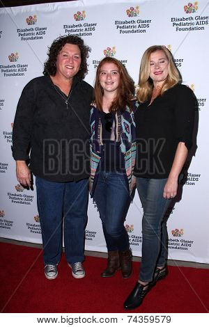 LOS ANGELES - OCT 19:  Dot Marie Jones, Bridgett Casteen at the 25th Annual