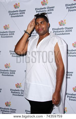 LOS ANGELES - OCT 19:  EJ Johnson at the 25th Annual