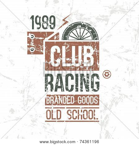 Emblem Racing Club Old School