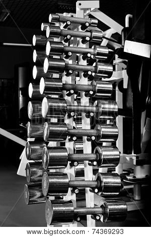Chromium-plated Dumbbells