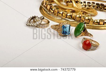 Scrap Gold Jewelry.
