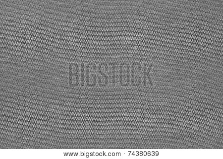 texture of the woven or knitted fabric in the form of scaly loops for abstract backgrounds of black color poster