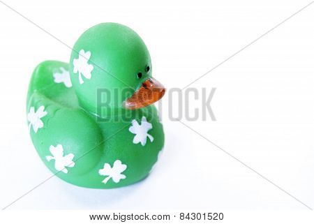 St. Patricks Day Rubber Duck