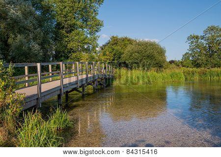 Footbridge over the River Test