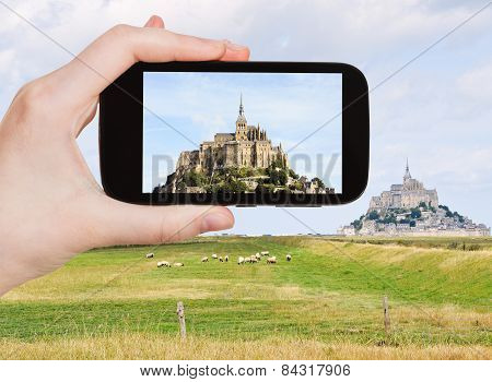 Photo Of Mont Saint-michel Abbey, Normandy