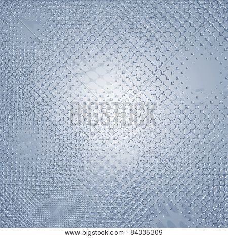 Abstract Relief Metallic Pattern Or Texture