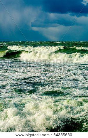dramatic storm