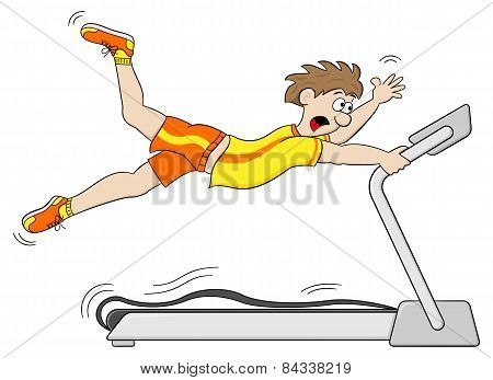 Too Fast Treadmill Workout