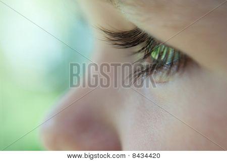 Baby macro eyelash