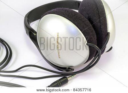 Headphones. Color image