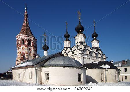 Suzdal. Lazarus Church And Antipievskaya Church
