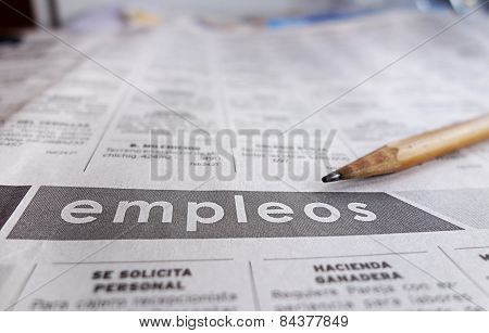 Spanish Help Wanted Section