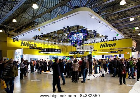 Nikon Stand On Moscow Exhibition