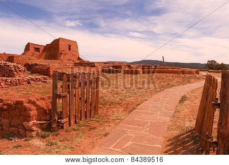 The Gates to Pecos Mission