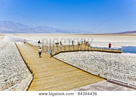 Badwater, Deepest Point In The Usa