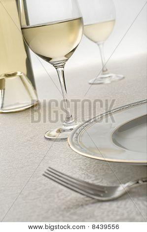 Wine Table Still Life