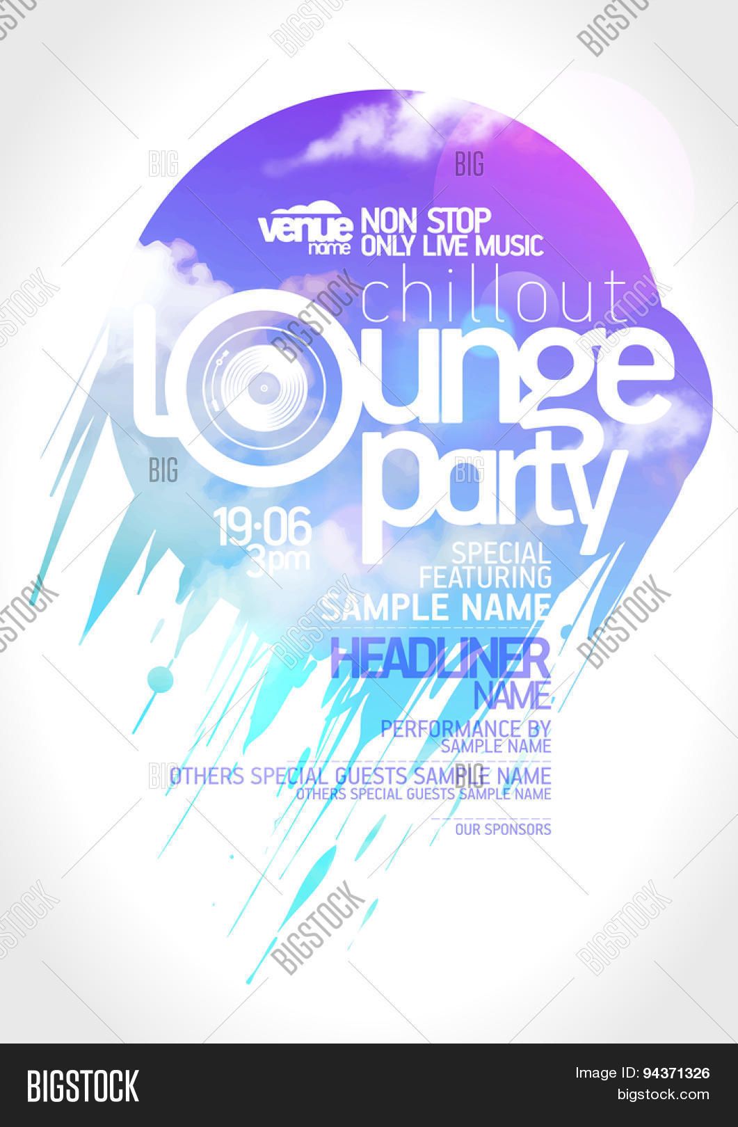 Art Lounge Party Vector Photo Free Trial Bigstock