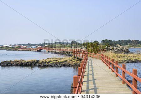 Landscape Of Jeju Olle Cours No. 2