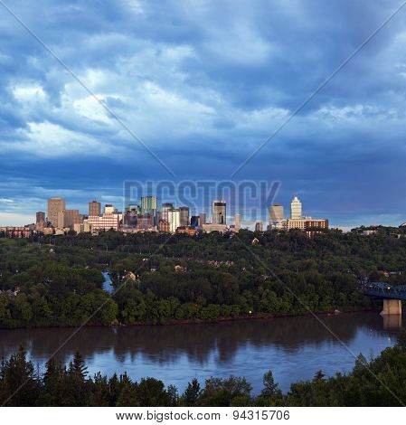 Panorama Of Edmonton