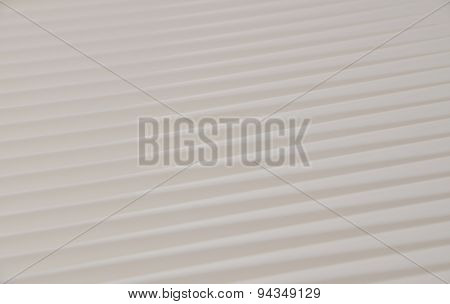 Beige tan diagonal lines with contrary directions poster