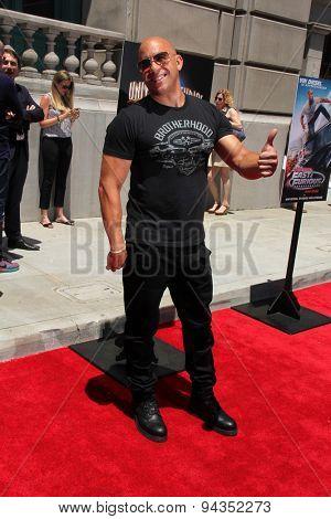 LOS ANGELES - JUN 23:  Vin Diesel at the