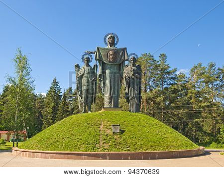 Monument to the Most Holy Mother of God, patron saint of Russia