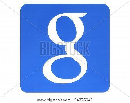 KIEV UKRAINE - MAY 26 2015:Google logotype