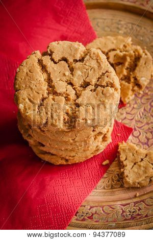Ginger Treacle Or Molasses Cookies