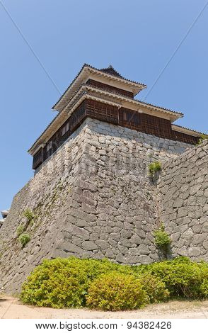 Taiko (drum) Turret Of Matsuyama Castle, Japan