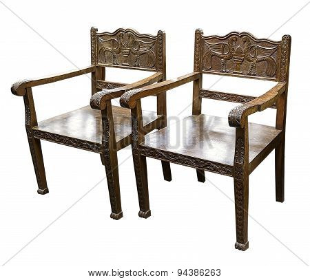 Chair With Woodcarving