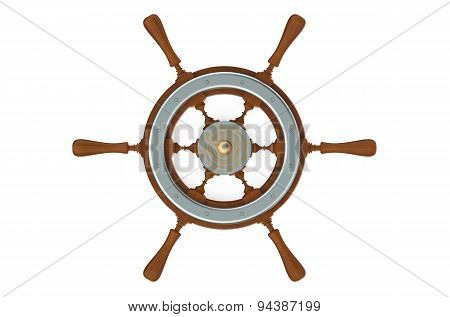 Ship's Wheel Closeup