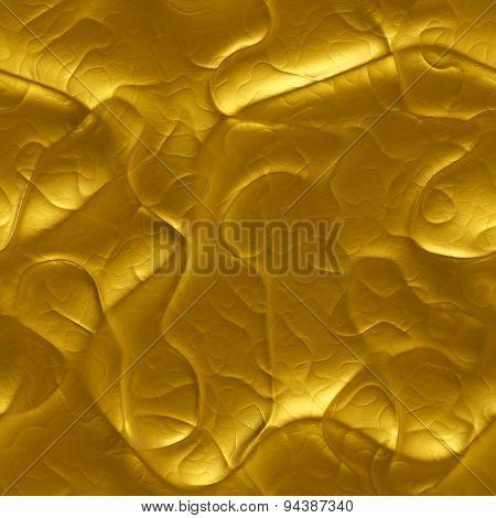 Luxury Molten Gold Liquid  - Seamlessly Background