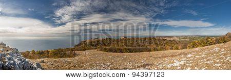 Crimea Autumn Panorama