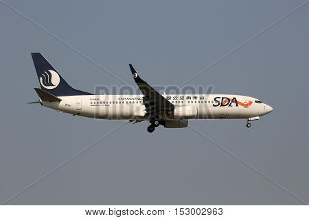 Sda Shandong Airlines Boeing 737-800 Airplane