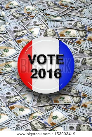 Vote 2016 with lots of money for all.