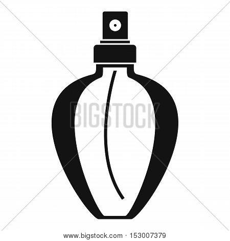 Parfume bottle icon. Simple illustration of parfume bottle vector icon for web