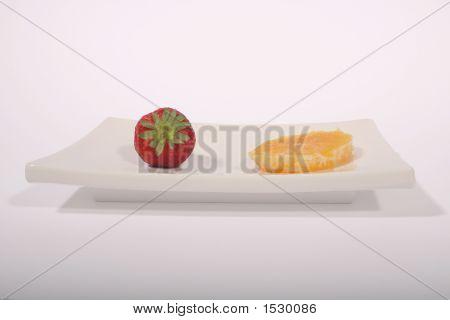 Strawberry & Orange Slice