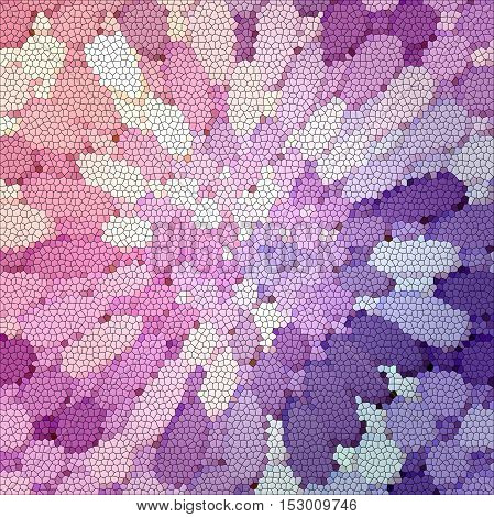 Abstract coloring background of the abstract gradient with visual illusion,mosaic,pinch,lighting and stained glass effects